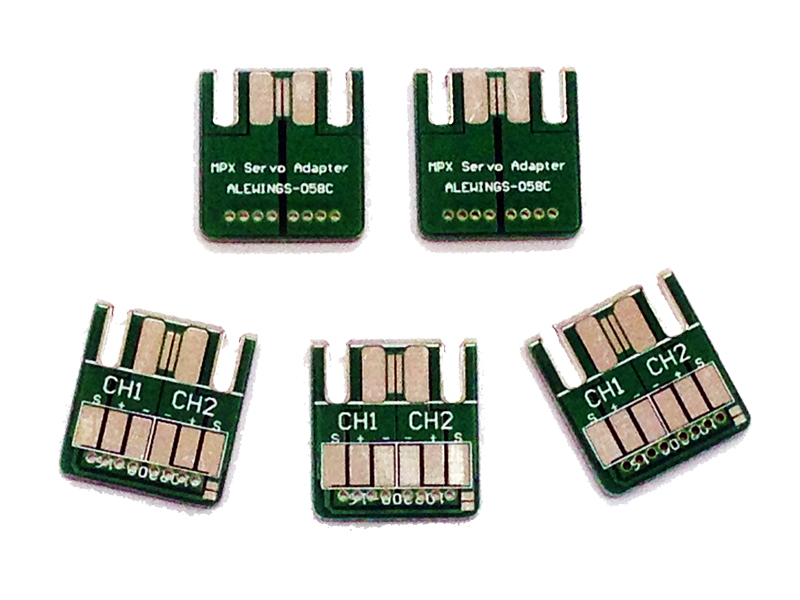 Five MPX PCB adapter with 6 soldering pads