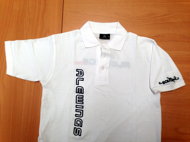 ALEWINGS polo white